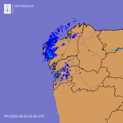 Radar de MeteoGalicia