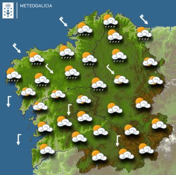El tiempo en Galicia
