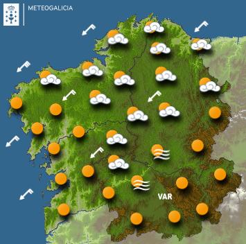 O Tempo en Galicia