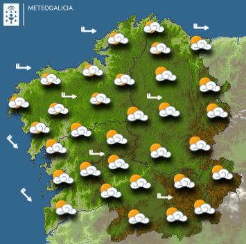 Pronóstico de MeteoGalicia